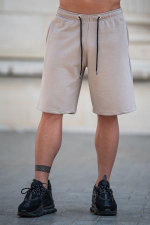 Pantalon scurt Warm Taupe [0]