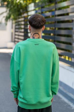 Bluza Oversized verde [1]