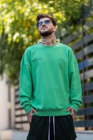 Bluza Oversized verde [0]