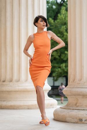 Rochie Hera Stramta Orange [0]