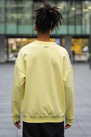 Bluza West Cartel Oversized Yellow [1]