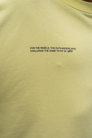Bluza West Cartel Oversized Yellow [3]