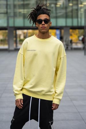 Bluza West Cartel Oversized Yellow [0]