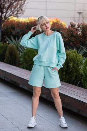 Set Elise Bluza si Pantalon Scurt Mint [0]