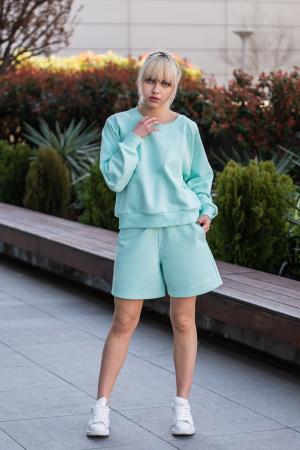 Set Elise Bluza si Pantalon Scurt Mint [2]