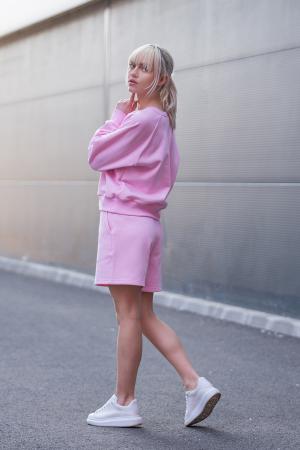 Set Elise Bluza si Pantalon Scurt Rose [4]