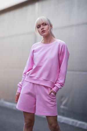 Set Elise Bluza si Pantalon Scurt Rose [2]
