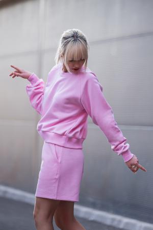 Set Elise Bluza si Pantalon Scurt Rose [3]