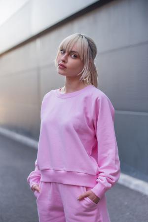 Set Elise Bluza si Pantalon Scurt Rose [6]