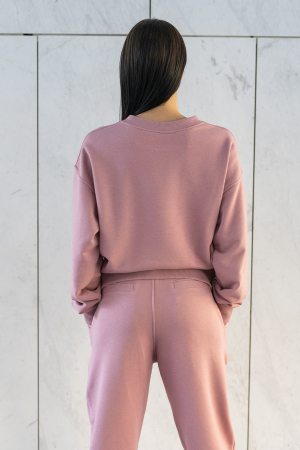 Bluza Easy-Fit Oversized Rose Quartz [2]