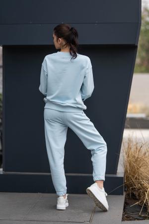 Set bluza si pantalon Oversized Easy-Fit Sky Blue [5]