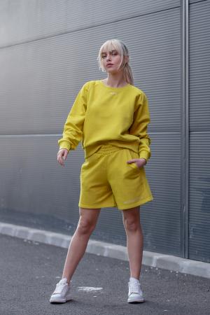 Set Elise Bluza si Pantalon Scurt Lime Green [1]