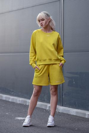 Set Elise Bluza si Pantalon Scurt Lime Green [4]