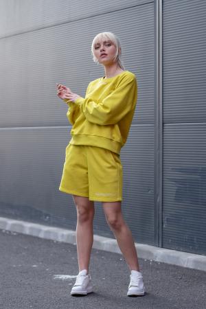 Set Elise Bluza si Pantalon Scurt Lime Green [5]