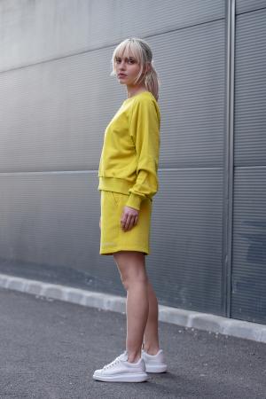 Set Elise Bluza si Pantalon Scurt Lime Green [6]