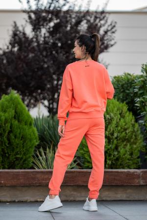 Set Easy-Fit bluza Oversized si pantalon Living Coral [4]