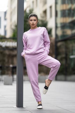 Set bluza si pantalon Oversized Easy-Fit Lila [0]