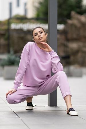 Set bluza si pantalon Oversized Easy-Fit Lila [5]