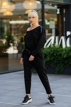 Set Unbroken II bluza si pantalon Black [0]