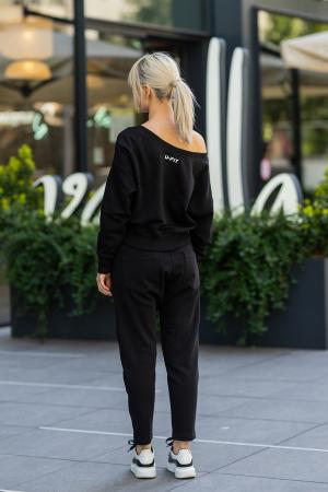 Set Unbroken II bluza si pantalon Black [4]
