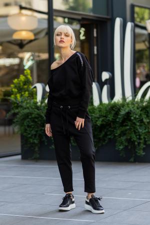 Set Unbroken II bluza si pantalon Black [3]