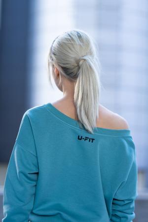 Set Unbroken II bluza si pantalon Dusty Turquoise [11]