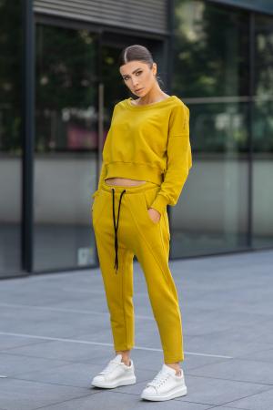 Set Unbroken II bluza si pantalon Mustard [1]
