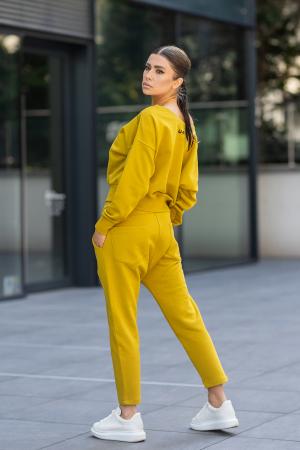 Set Unbroken II bluza si pantalon Mustard [2]