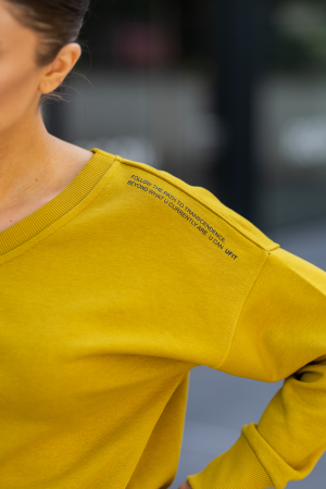 Set Unbroken II bluza si pantalon Mustard [5]