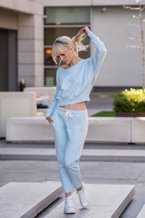 Set Unbroken II bluza si pantalon Sky Blue [1]