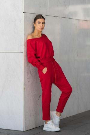 Set Unbroken II bluza si pantalon True Red [2]