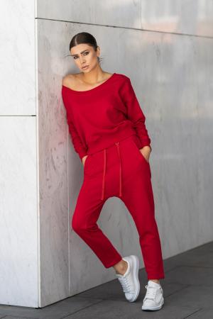 Set Unbroken II bluza si pantalon True Red [1]