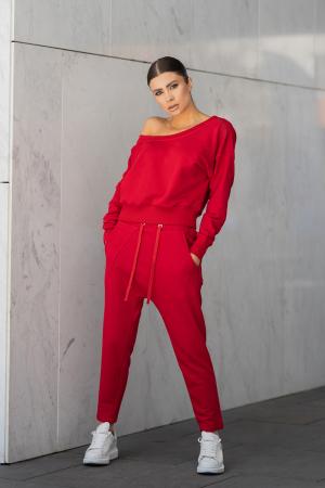 Set Unbroken II bluza si pantalon True Red [6]