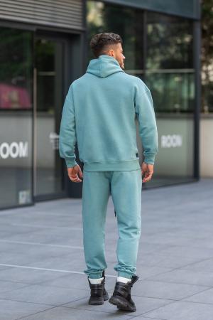 Set Cotton California hanorac si pantalon Dusty Turquoise [6]
