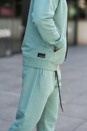 Set Cotton California hanorac si pantalon Dusty Turquoise [8]