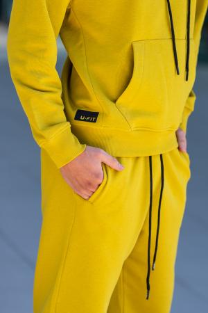 Set Cotton California hanorac si pantalon Mustard [7]