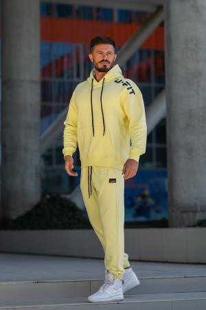 Set Cotton California hanorac si pantalon Yellow [6]