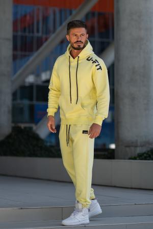 Set Cotton California hanorac si pantalon Yellow [5]