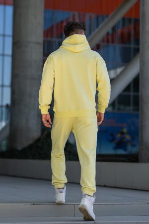 Set Cotton California hanorac si pantalon Yellow [7]