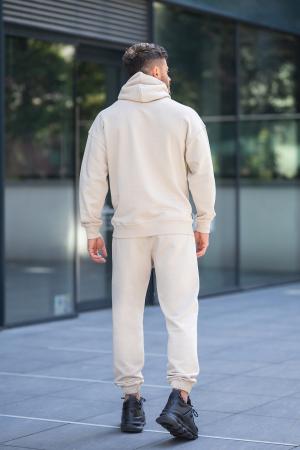 Set Cotton California hanorac si pantalon Light Beige [4]