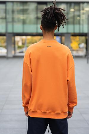 Set West Cartel Bluza Oversized si Pantalon lejer Orange/Navy [5]