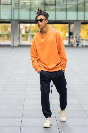 Bluza West Cartel Oversized Orange [4]