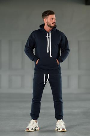 Set Easy-Fit hanorac Oversized si pantalon Easy-Fit Navy [2]