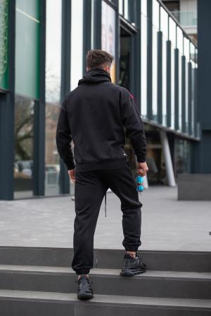 Hanorac Easy-Fit Oversized Black [4]