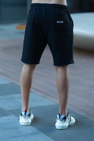 Set Malibu hanorac si pantalon scurt Black [10]