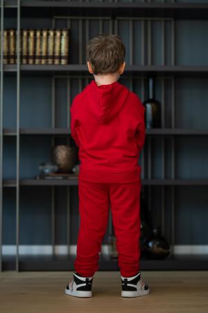 Set Easy-Fit Kids hanorac si pantalon rosu [3]