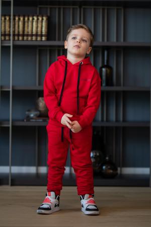 Set Easy-Fit Kids hanorac si pantalon rosu [5]
