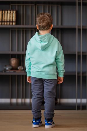 Set Easy-Fit Kids hanorac si pantalon Mint/Grey anthracite [6]
