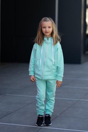 Set Rock-Fit Kids hanorac si pantalon Mint [0]
