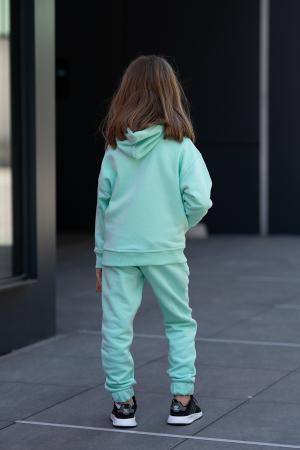Set Rock-Fit Kids hanorac si pantalon Mint [3]